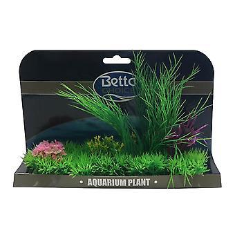 Betta Choice X-Large Plant Mat - Purple & Green