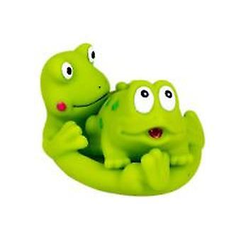Suddies-badetid familie-frosker
