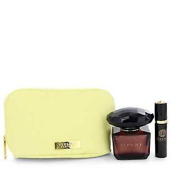 Crystal Noir von Versace Geschenk-Set - 3 Oz Eau De Toilette Spray + 0,3 Oz Mini Edt Spray In Versace P V728-543334