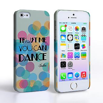 Caseflex iPhone 5 and 5S Vodka Dance Quote Hard Case – Green
