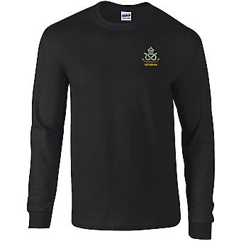 South Staffordshire Regiment Veteran - Licensed British Army Embroidered Long Sleeved T-Shirt