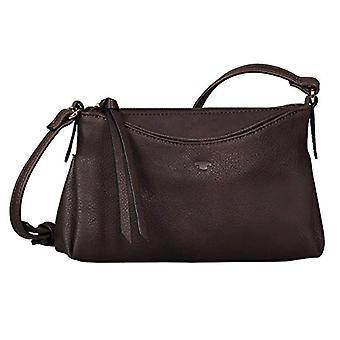 Tom Tailor Acc Avea - Women Brown shoulder bags (Brown) 22x14x3 cm (W x H L)