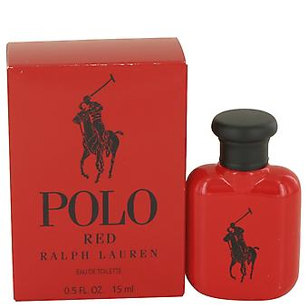 Polo Red de Ralph Lauren Eau De Toilette .5 oz / 15 ml (Hommes)