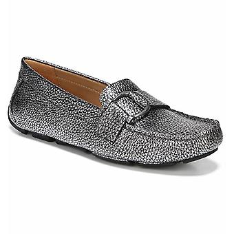 Naturalizer Womens Nara Leather Square Toe Loafers