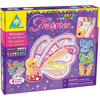 Sticky Mosaics Kit Fairies 67199