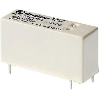 PCB relays 5 Vdc 10 A 1 change-over Finder 1 pc(s)