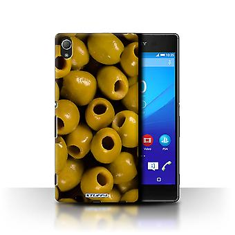 STUFF4 Case/Cover for Sony Xperia Z4/Olives/Food
