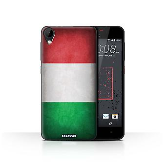 STUFF4 Case/Cover for HTC Desire 825/Italy/Italian/Flags