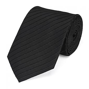 By Fabio Farini striped tie in black