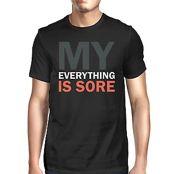 My Everything Is Sore Men's T-shirt Unisex Work Out Graphic Tee