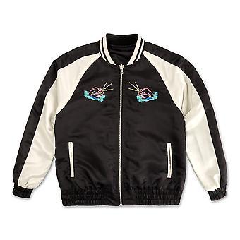 Pink Dolphin Souvenir reversibel Bomber jakke svart
