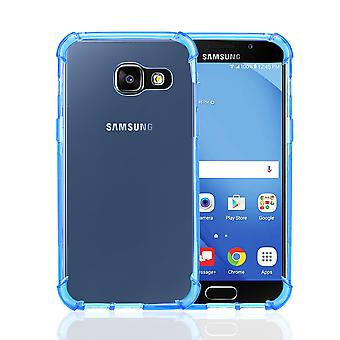 32a duro Gel custodia per Samsung Galaxy A5 (2017) - Deep Blue