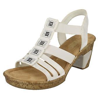 Damer Rieker krängt sandaler 69761