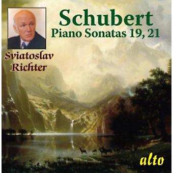 Schubert: Piano Sonatas 19 21
