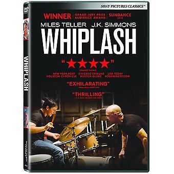 Whiplash [DVD] USA import