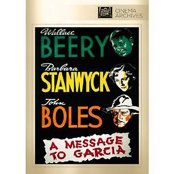 Message to Garcia [DVD] USA import