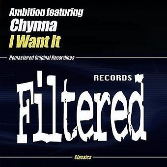 Ambition - I Want It [CD] USA import