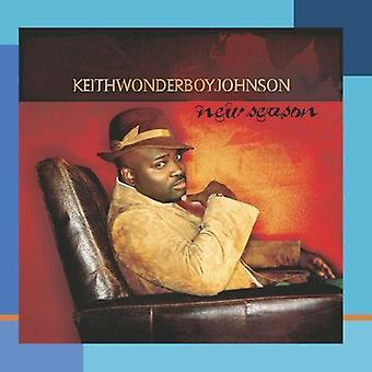 Keith Wonderboy Johnson - ny sæson [CD] USA import
