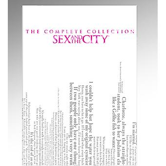 Sex & City - Sex & byen: hele serien [DVD] USA import