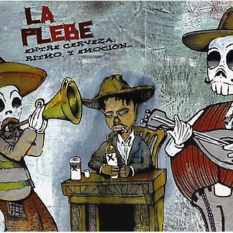 La Plebe - Entre Cerveza Ritmo Y Emoc [CD] USA import