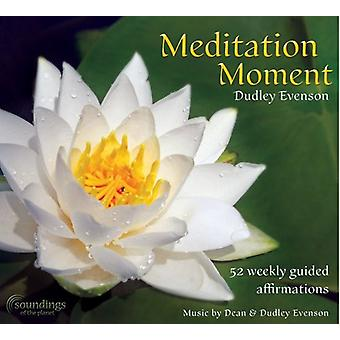 Dudley Evenson - Meditation øjeblik [CD] USA importerer