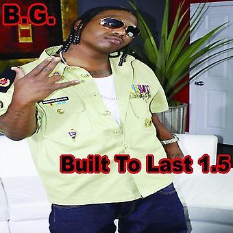 B.G. - bygget til sidste 1,5 [CD] USA import