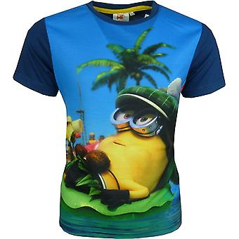 Boys Despicable Me Minions short sleeve T-shirt EP1464