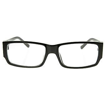 Moderne saubere & grundlegende rechteckige RX-in der Lage klare Linse Brillen Lesebrillen