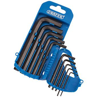 Draper 33688 Imperial Hexagon Allen Key Set (10 Piece)