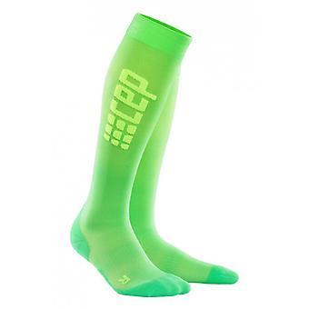 CEP kompression strømper køre ultralet sokker - viper-grøn damer