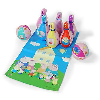 Peppa Pig Bowling Game Set