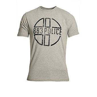 883 Police Miller T-Shirt Marl Grey