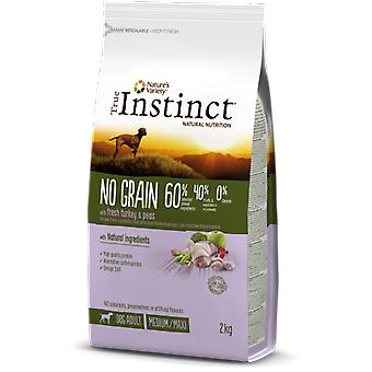 True Instinct Pienso for dog Tind not Grain Med Adult Turkey (dogs, food, I think)