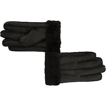 Ashwood Ashwood Herre læder pels manchet handsker