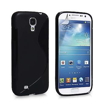 Caseflex Samsung Galaxy S4 S-Line Gel Case - Black