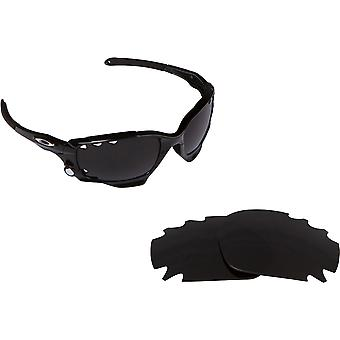Best SEEK Replacement Lenses for Oakley VENTED RACING JACKET Black Amber