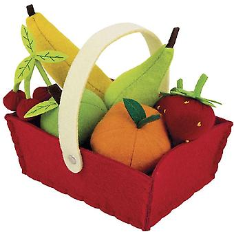 Janod Felt Fruit Basket