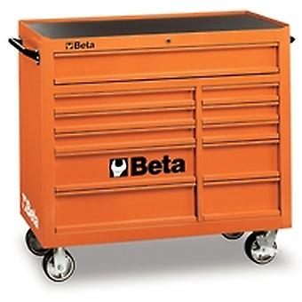C38 O Beta Mobile Roller Cab With Eleven Drawers