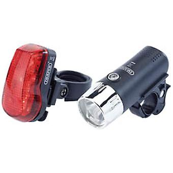 Draper 24815 Front And Rear Led Bicycle Light Set