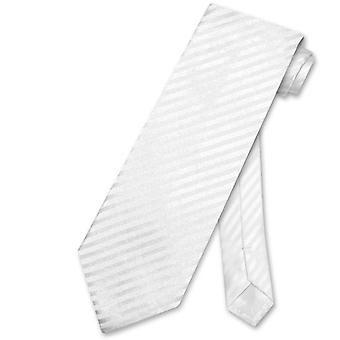 Vesuvio Napoli NeckTie Striped Vertical Stripes Design Men's Neck Tie