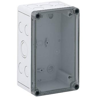 Build-in casing 110 x 180 x 90 Polycarbonate (PC) Light grey Sp