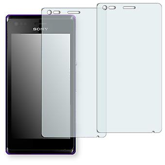 Sony Xperia C2005 display protector - Golebo crystal clear protection film