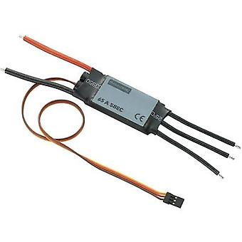 Model aircraft brushless motor controller Modelcraft 65A BEC Load (max.): 85 A