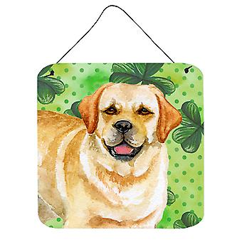 Golden Retriever St Patrick's Wall or Door Hanging Prints