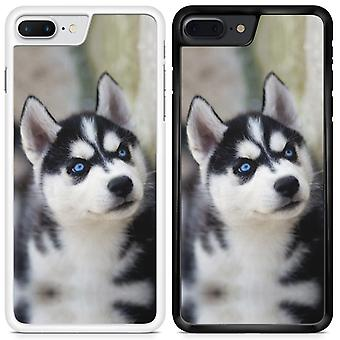 Husky Custom designet trykt telefon tilfældet For Samsung Galaxy J3 2017 / hky08 / hvid