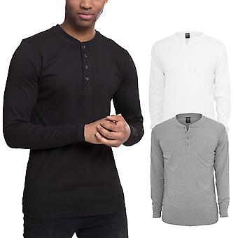 Urban classics - HENLEY long sleeve long sleeve shirt