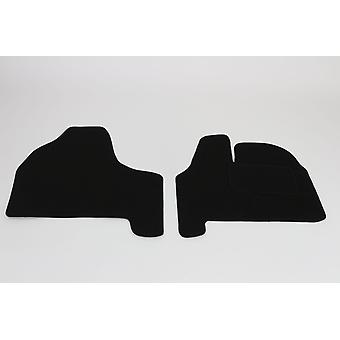 Fully Tailored Car Floor Mats - Citroen DISPATCH MPV 2007-2018 Black