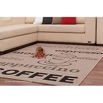 Coffee Silver Rug