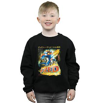 Disney Boys Big Hero 6 Fred Manga Poster Sweatshirt