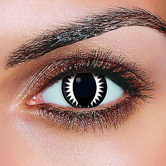 Black Dragon Contact Lenses (Pair)